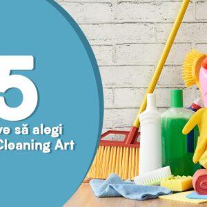 5 motive sa alegi Alexa Cleaning Art